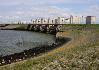 Lorentz en Stevin sluiscomplexen Afsluitdijk